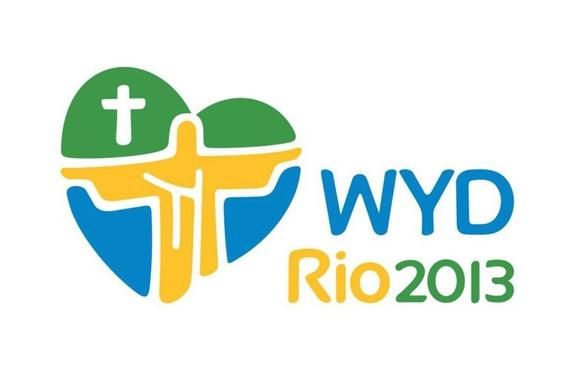 2013年里约热内卢世界青年节logo